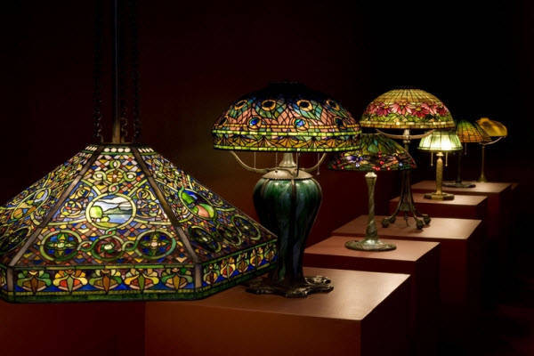 Đẳng cấp với bộ sưu tập đèn Tiffany giá triệu đô