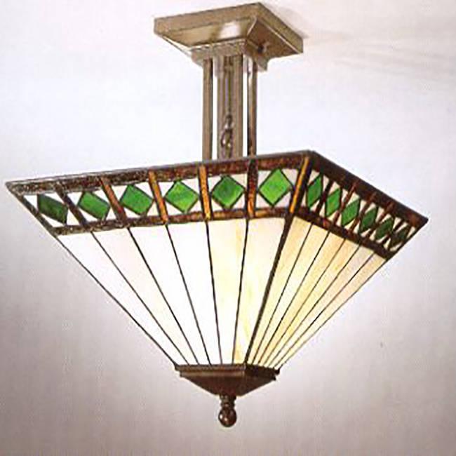 Đèn tranh kính đèn treo Tiffany – T07KD