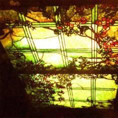 Trần tranh kính nghệ thuật – M02