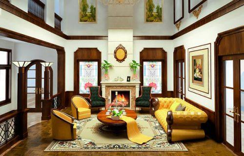 Tranh kính đẹp cho nội thất sống động