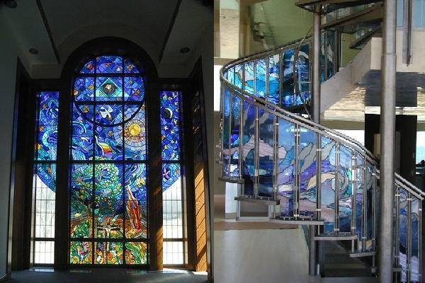Những điểm thú vị về tranh kính màu ghép nghệ thuật