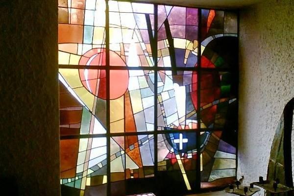 Quy trình sản xuất của những bức tranh kính màu ghép nghệ thuật