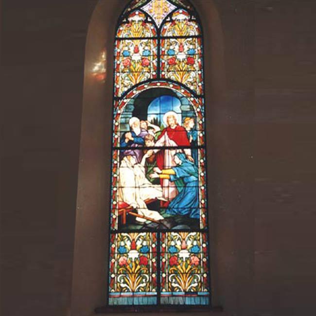 Tranh kính nhà thờ – V24