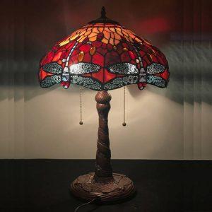 Mẫu đèn Tiffany Chuồn Chuồn - Tiffany Dragonfly Lamp nổi tiếng