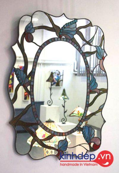 Mẫu gương kính nghệ thuật - G07