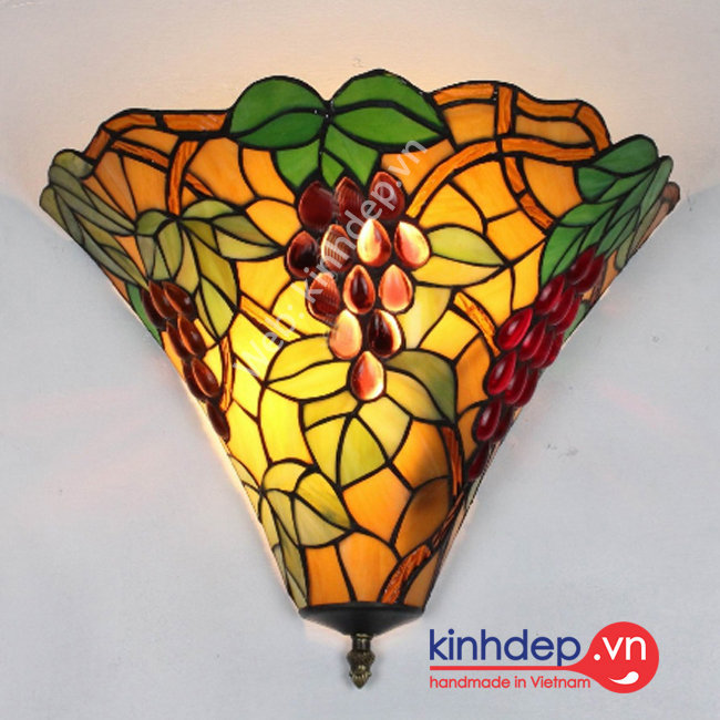 Mẫu đèn hắt tường Tiffany – H02KD