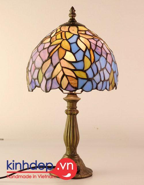 Thiết kế mẫu đèn ngủ Tiffany - kích thước 8 inch