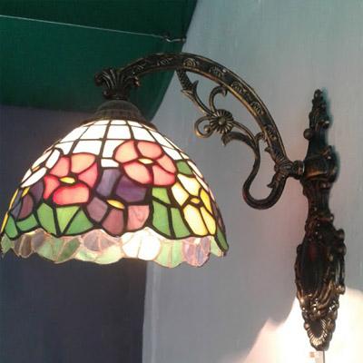 Mẫu đèn Tiffany gắn tường – T28KD