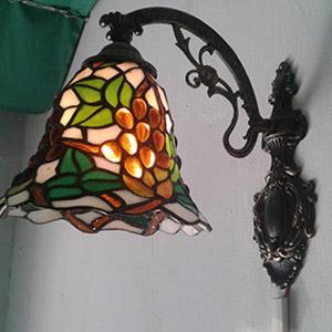 Mẫu đèn Tiffany  gắn tường – T26KD