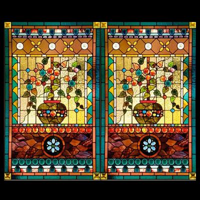 Thiết kế tranh kính màu decor tĩnh vật D22