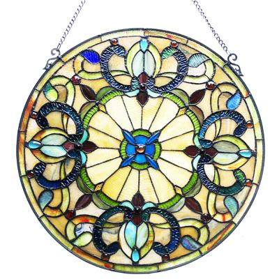 Mẫu tranh kính decor hoa văn D29