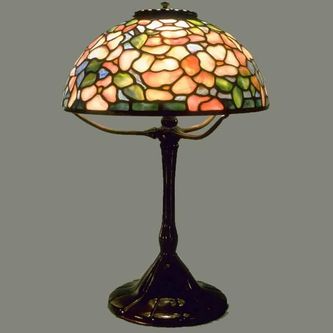 Đèn bàn Tiffany Dogwood – T13KD