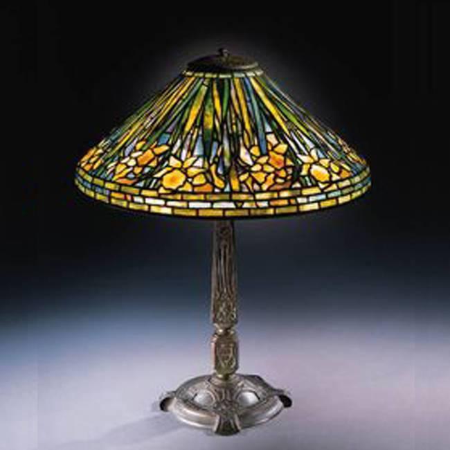 Đèn bàn Tiffany Daffodil- T08KD