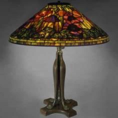 Đèn bàn Tiffany Poppy -T03KD