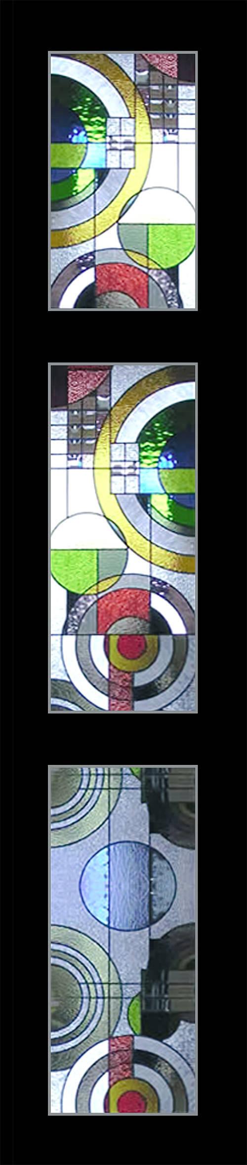 Tranh kính màu ghép biệt thự Mỹ Đình Hà Nội