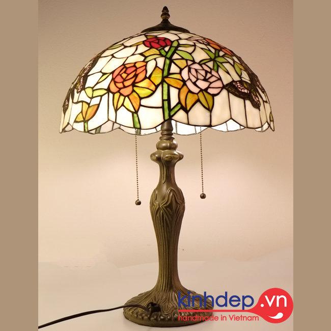 Mẫu đèn bàn Tiffany – T18KD