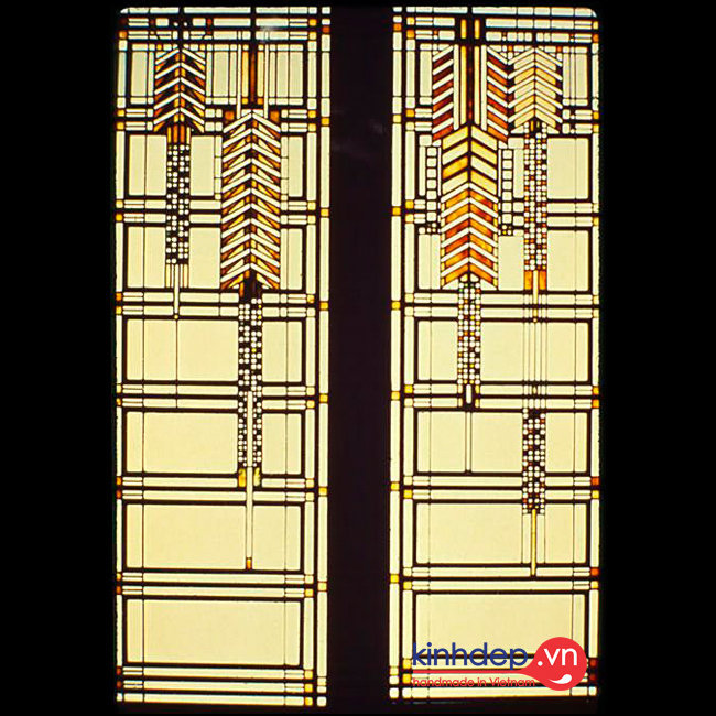 Mẫu cửa sổ kính nghệ thuật – C28