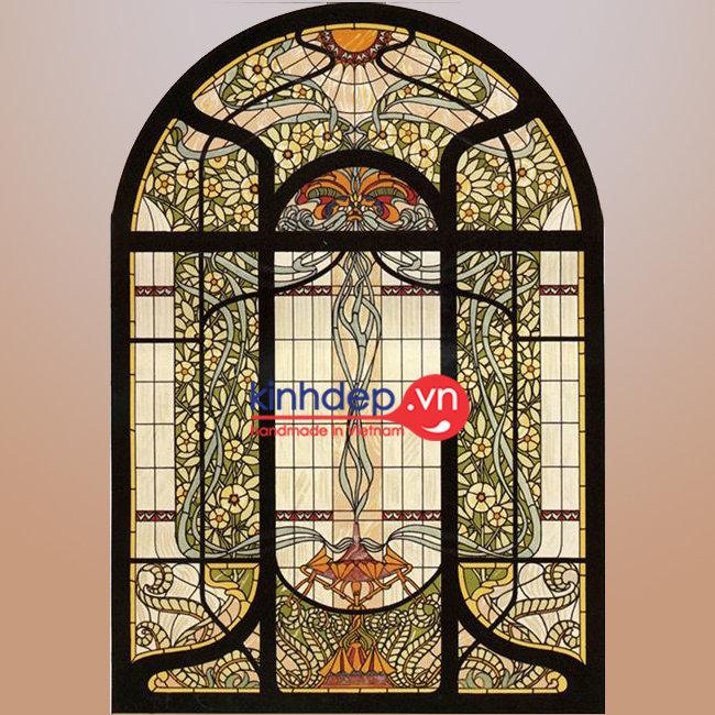 Mẫu cửa sổ kính nghệ thuật – C29