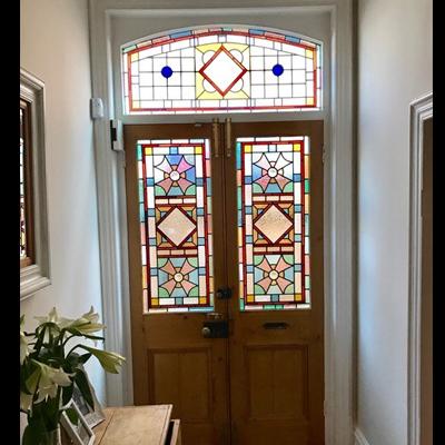 Thiết kế cánh cửa hoa văn đẹp NT02