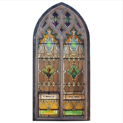 Thiết kế cửa kính nhà thờ NT04