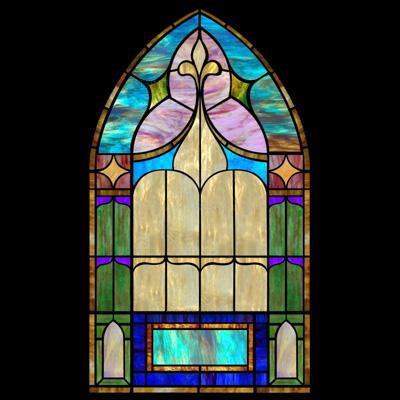 Thiết kế cửa kính màu sang NT05