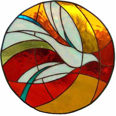 Ô thoáng cửa kính màu chim bồ câu NT08