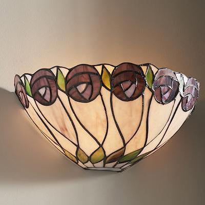Mẫu đèn Tiffany ốp tường đẹp T37KD